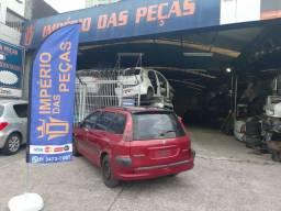 Sucata Peugeot 206 SW 82 cv 1.4 flex