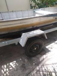 Carreta e barco 6m