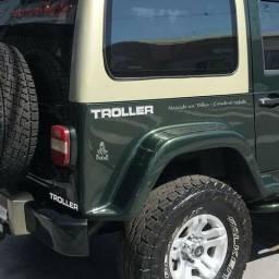 Adesivos /Logotipo / Emblema Resinado para Jeep Troller modelo original
