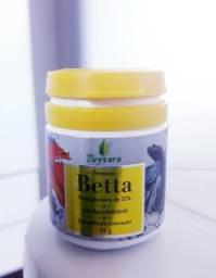 Comidas importadas de São Paulo para BETTAS. E Protect Plus que tira Cloro da água