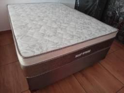 Conjunto Box Casal Sleep pocket Molas Ensacadas individualmente - pocket