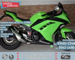 Kawasaki verde ninja 300 2015 R$11299 13499km - 2015