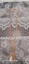 Corrente de zamac banhada a ouro 18K envernizada, usado comprar usado  Salvador