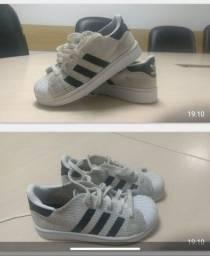 Tênis Adidas Super star original infantil