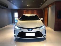 Corolla Blindado Altis Premium Hybrid 2021 só 2727 kms o mais TOP oportunidade