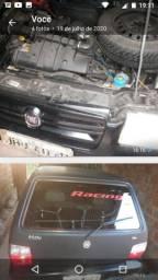 Fiat uno 2008 carro básico só vidro elétrico e som