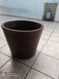 Um vaso, para plantas,