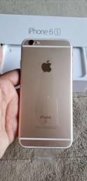 Iphone 6s 128gb Gold Impecável no plástico