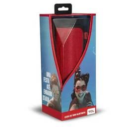 Caixa De Som Bluetooth Tcl Bs12 Ipx7 Vermelha Viva Voz Nfc<br>