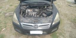 Honda Accord LX 2.0 2006 Preta Sucata Retirar Peças
