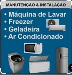 Refrigeração e manutenção geladeira e máquinas de lavar roupa ZAP zap  *
