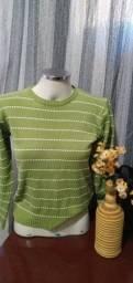 Título do anúncio: Blusa/Suéter Verde - Tam. M