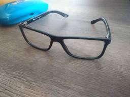 Armação Quadrada Geek Óculos Tecnol Nunca Usada