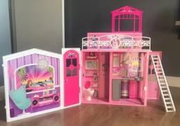 casa de férias da barbie maleta