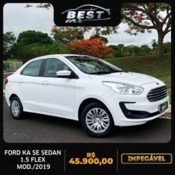 Ford ka sedan 2019 1.5 ti-vct flex se manual
