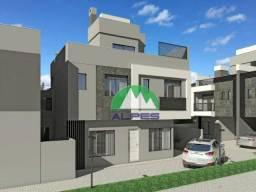 Sobrado com 3 dormitórios à venda, 182 m² por R$ 659.000,00 - Uberaba - Curitiba/PR