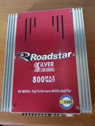 Modulo Amplificador Roadstar Silver 800