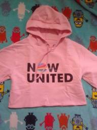 Título do anúncio: Casaco Now United novo