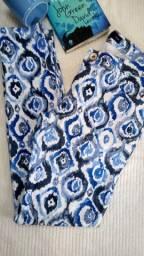 Calça azul