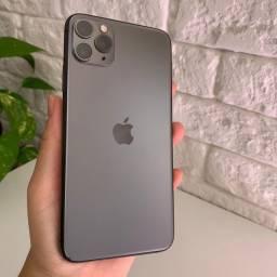 iPhone 11 PRO MAX 64GB, Seminovo, Muito bem conservado, Acessórios originais, Garantia