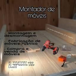 Título do anúncio: Montador de móveis