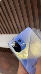 Mi 11 lite 64gb azul novo com garantia