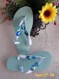 Título do anúncio: Sandálias Havaianas personalizadas leia a publicação