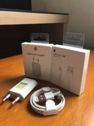 Título do anúncio: Kit Carregador Apple iPhone Original Lacrado Novo