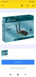 Adaptador Wifi 1300mbps Tp-link 5ghz Ac1300 Archer T6e Pci-e