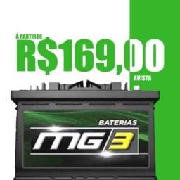 Baterias MG3 45Ah R$169,00