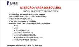 Título do anúncio: Vaga de Emprego - Aeroporto Afonso Pena