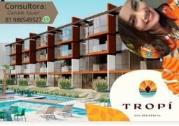 Título do anúncio: DX Tropí Eco Residence - 2 quartos | Ultimas unidade beira mar de muro alto