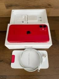 Iphone 11 128gb RED com caixa e todos os acessórios originais