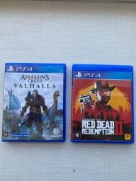 Red Dead Redemption 2 + Assassin?s Creed Valhalla PS4