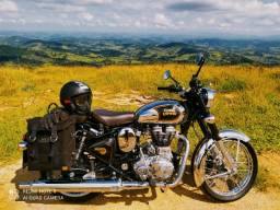 Royal Enfield classic 500 Crome 1500 km- Peça de Museu