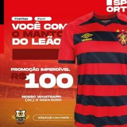 Título do anúncio: Camisa Sport Recife.