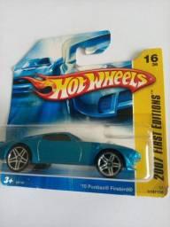 Hotwheels 70 Pontiac Firebird ano 2007 - RARIDADE