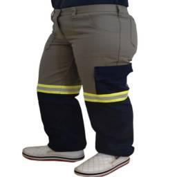 Título do anúncio: Calças D/uniforme Epi Faixa Refletiva-brim- 5 Bolsos Atacado