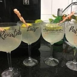 Título do anúncio: Festa só é Boa com uma taça gin personalizada