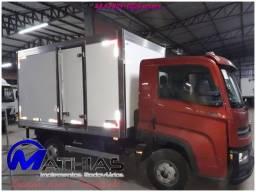 carroceria refrigerada 3/4 toco truck bi truck  para todos os tamnahos