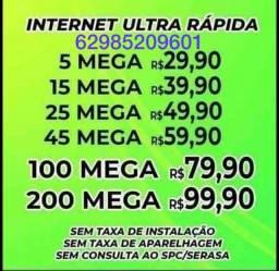 Título do anúncio: ?internet de fibra ?