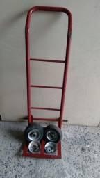 Título do anúncio: Carrinho de 2 rodas para caixas