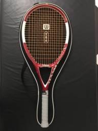 Raquete de tênis Wilson n code barbada