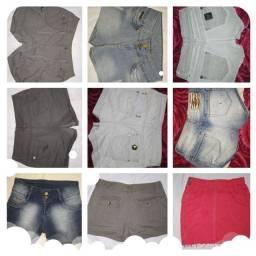Vendo shorts semi novos