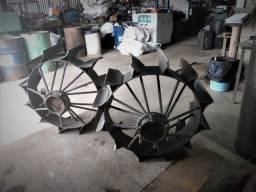 Título do anúncio: Enxada rotativa roda para tobata ou trator.