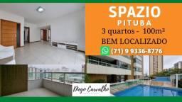 Título do anúncio: Spazio Pituba - Apartamento 3 quartos Pituba- Condomínio de Alto Padrão - (R9)
