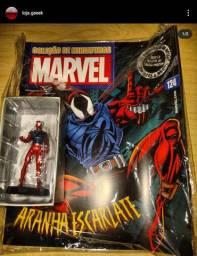 Miniatura de metal Eaglemoss Homem aranha Aranha Escarlate