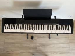 Piano Digital Casio Cdp 135 Bk + suporte| Novíssimo!!