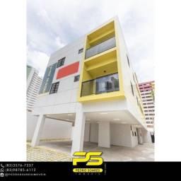 Título do anúncio: Apartamento com 2 dormitórios à venda, 73 m² por R$ 280.000 - Miramar - João Pessoa/PB