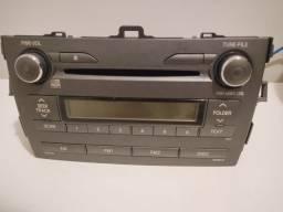 Rádio CD Corolla original 09/10
